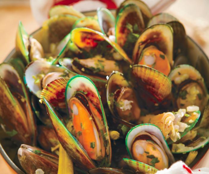 Goa Curry Mussels Hot Pot Recipe