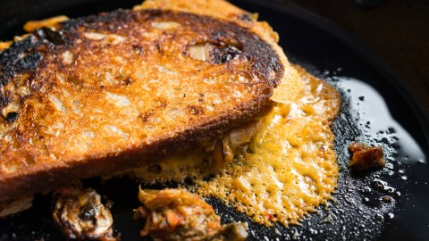 These are the best cheeses to use in your next grilled cheese. (Photo: Evan Sung.)