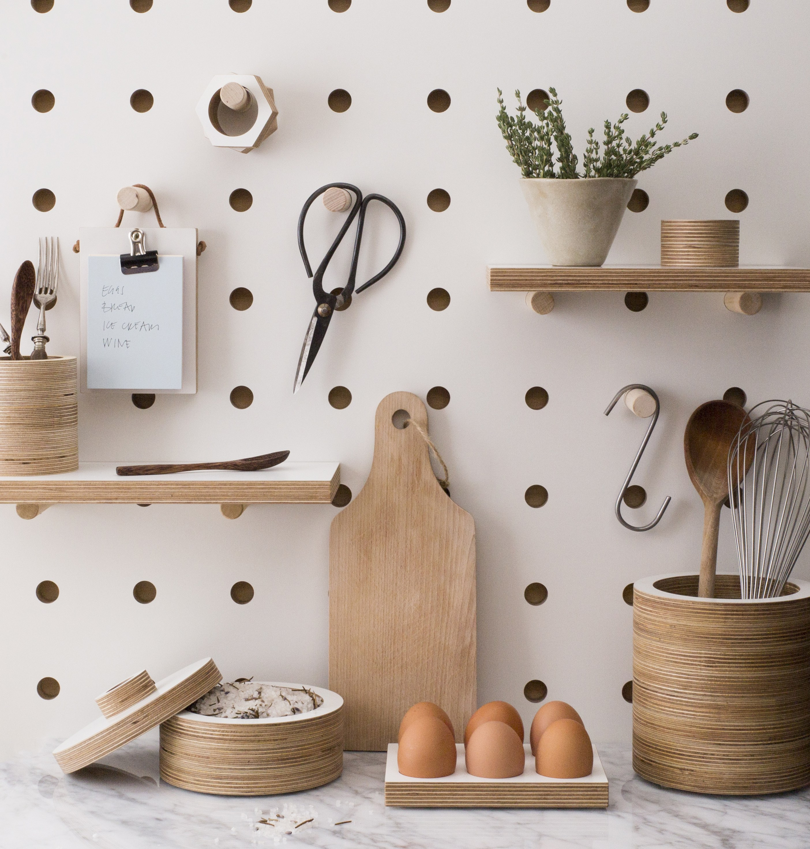 Kitchen Pegboard Easy Kitchen Decor Upgrade Get A Better Pegboard Food Republic