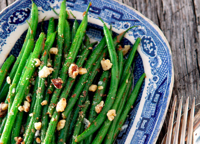 French Green Beans With Walnut Miso Butter Recipe