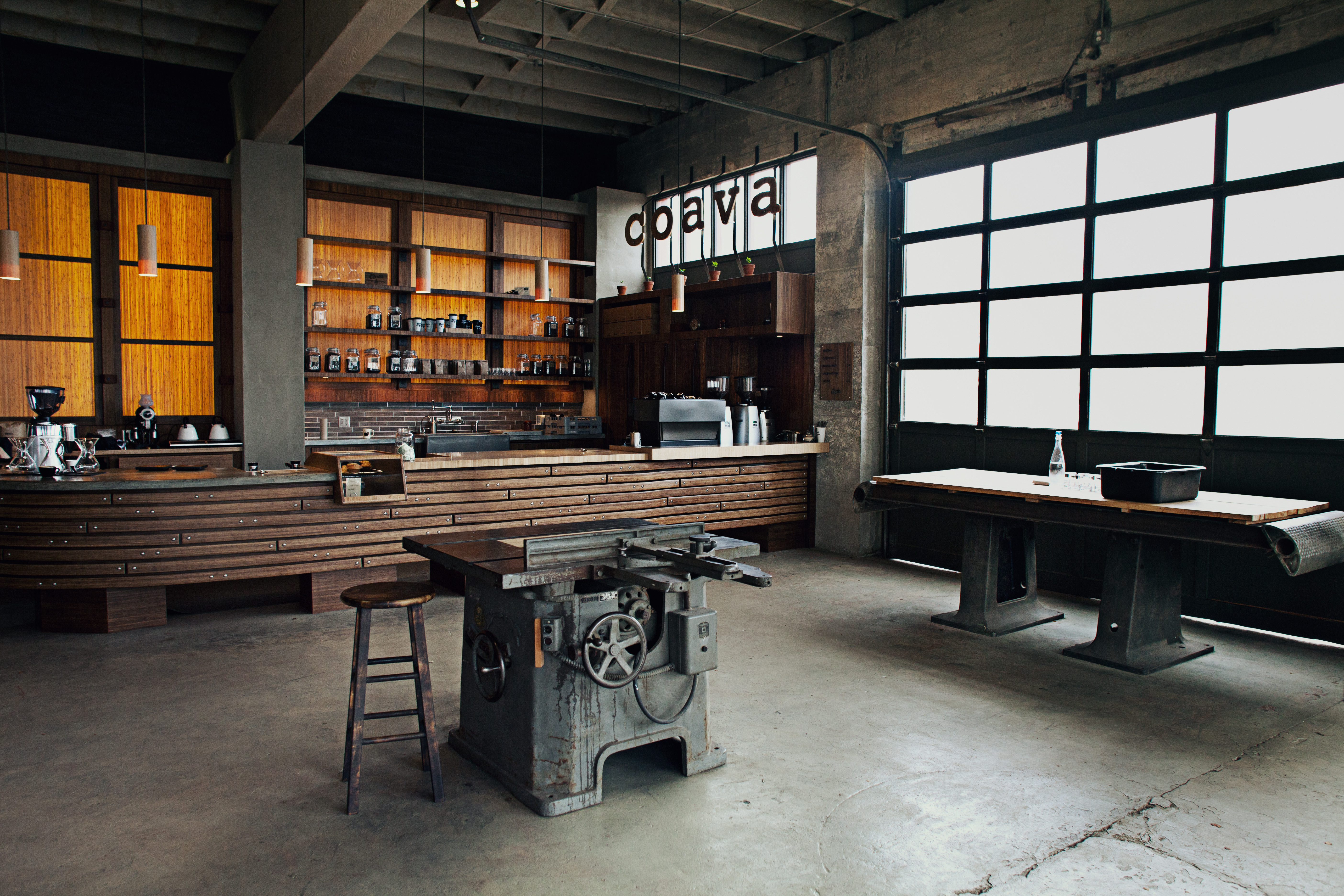 The BestDesigned Coffee Bars Roasters And Shops Across America - Coffee shops around world eye catching interior design details