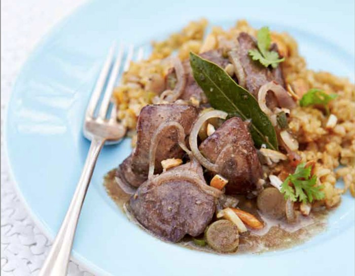 Freekeh with chicken livers recipe food republic article featured image forumfinder Gallery