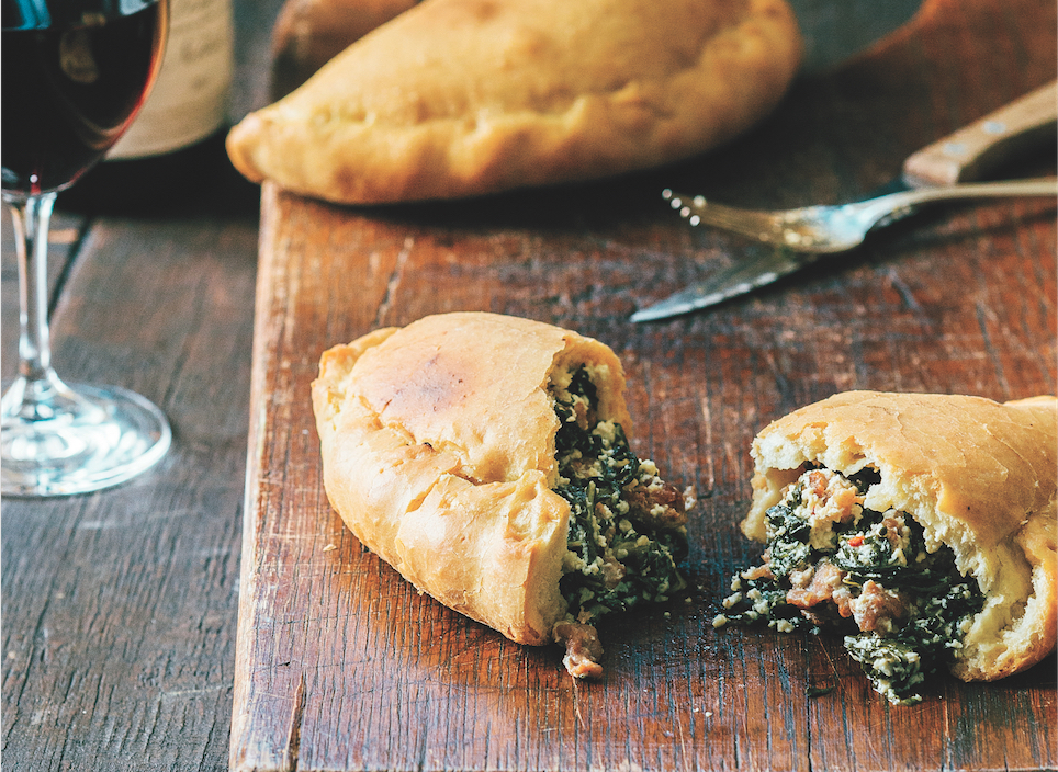 Calzone With Sausage, Greens And Ricotta - Food Republic