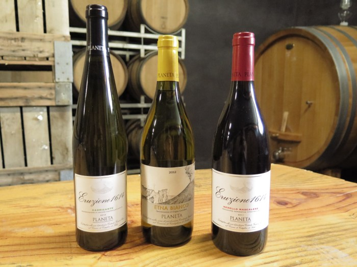 Sicily-Planeta wines