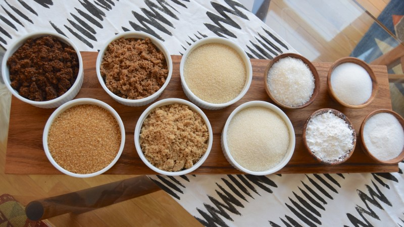 There are many kinds of sugar out there. Are you using the right one (Photos: Paul Harrison.)