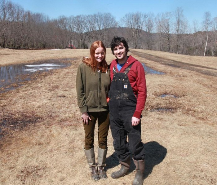 Big Picture Farm's Louisa Conrad and Lucas Farrell