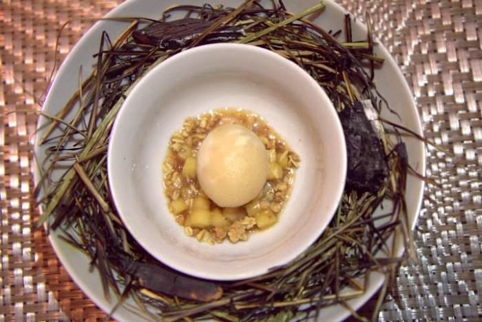 Vendue Charleston Smoked Hay Dessert-Copyright Virginia Miller