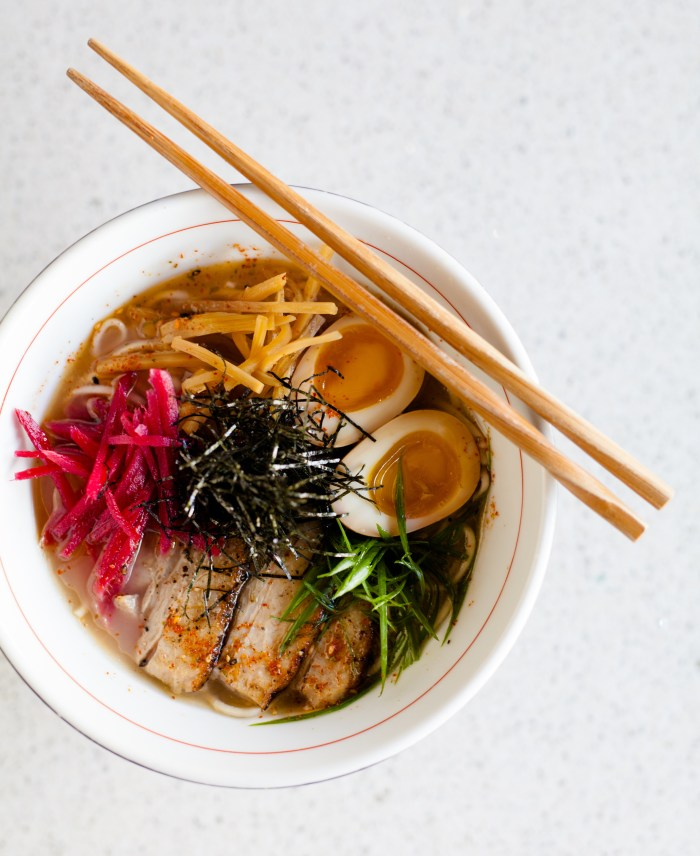 The broth for the Seito Sushi's Tonkotsu Ramen takes several days to make. (Photo credit: Seito Sushi)