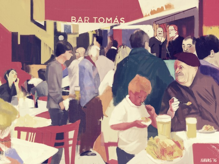 Bar To (Illustration by David Navas.)