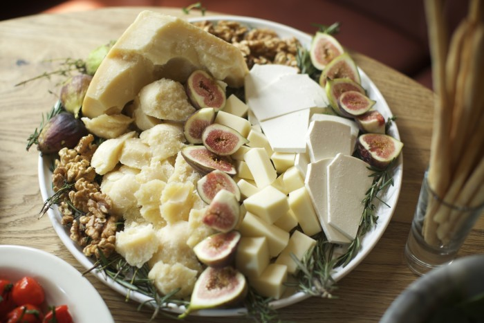 Mix your cheese varieties with usual suspects and outliers to keep everyone happy and on their toes.