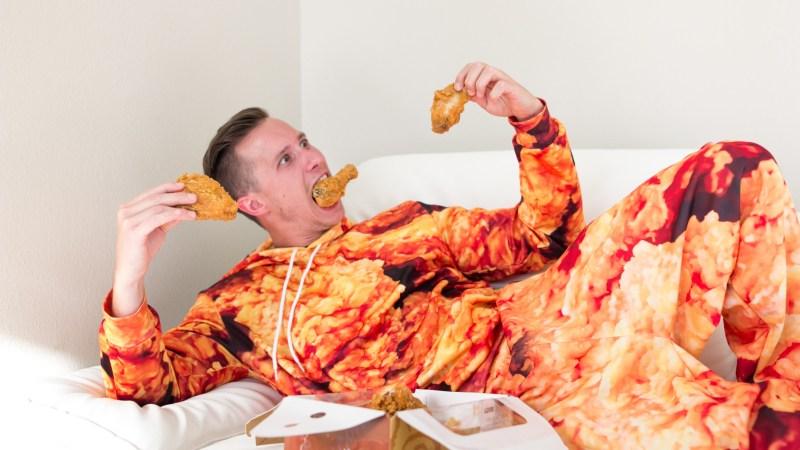 Love fried chicken? Why not wear it? (Photo courtesy of GetonFleek.)