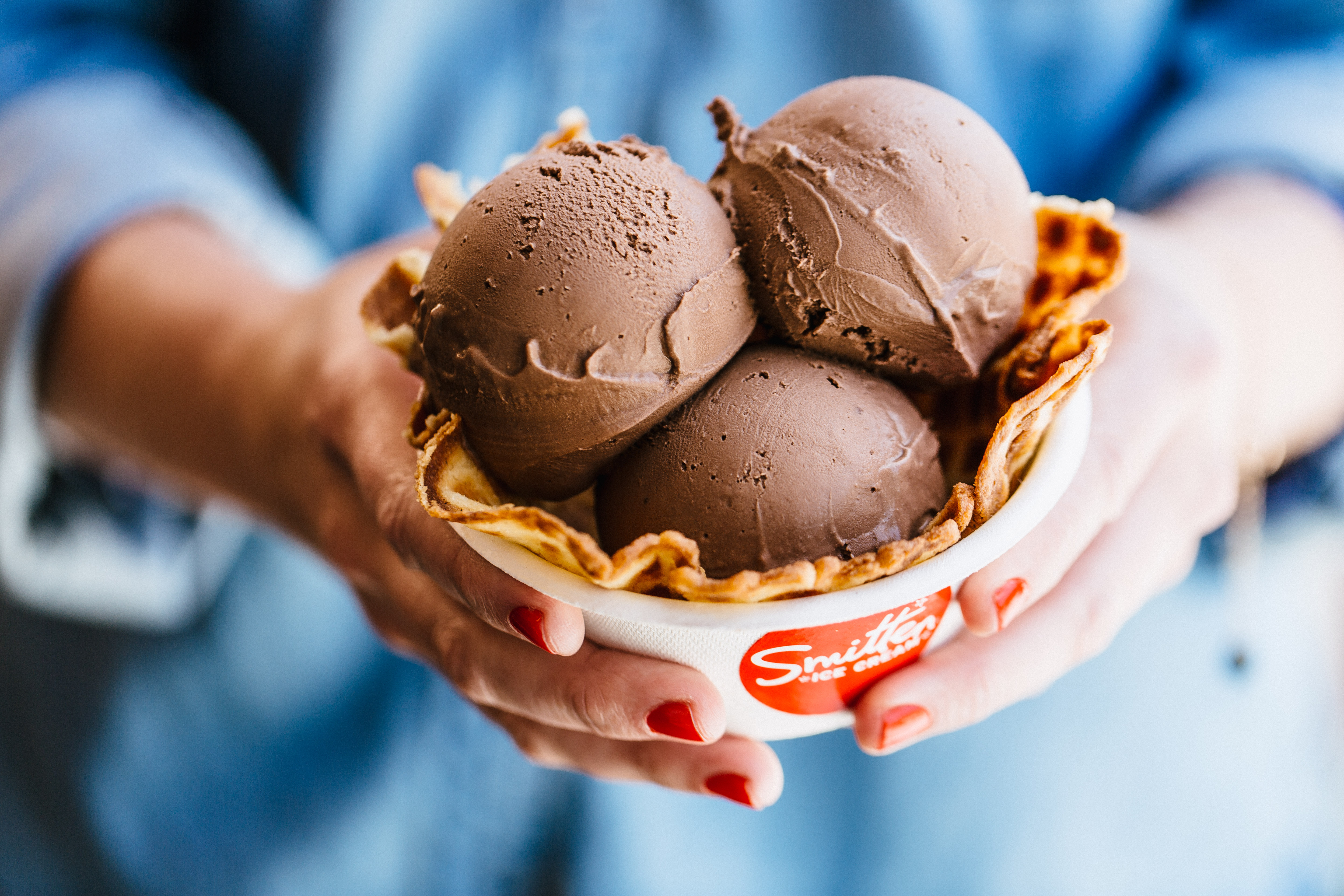 Smitten Ice Cream Logo consume mezcal, ice cream, coffee for charity: this week in food