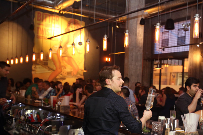 Bitter & Twisted is a fun, relaxed spot featuring 116 different cocktails. (Photo credit: Bitter & Twisted)