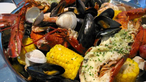 New England Style Clam Bake