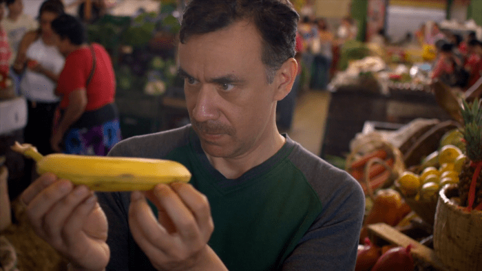 Fred Armisen plays a young man tasked with taking over his father's Michelin-starred restaurant for the first time.