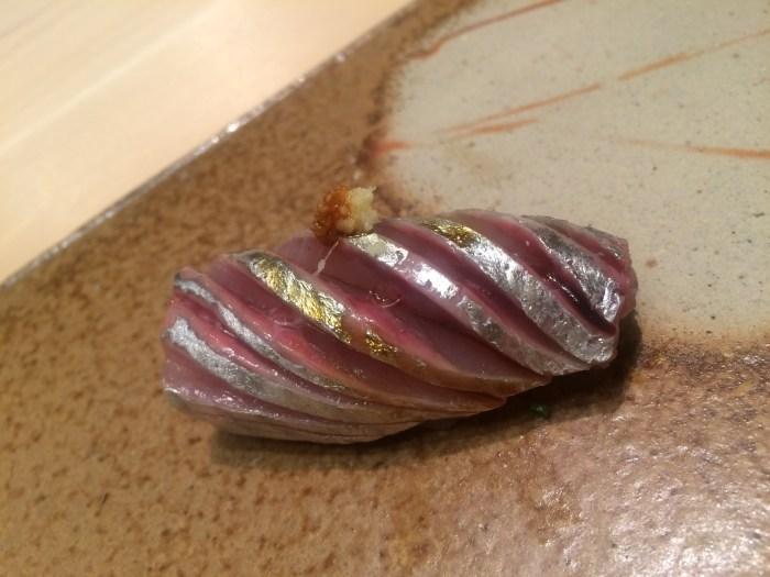 Sushi Ginza Onodera Aji (Horse Mackerel)-2