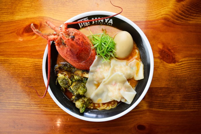 Lobster ramen at Jinya