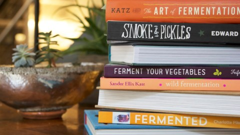 Looking to get into home fermentation? Here's some recommended reading. (Photos: Daniel Carnaje.)