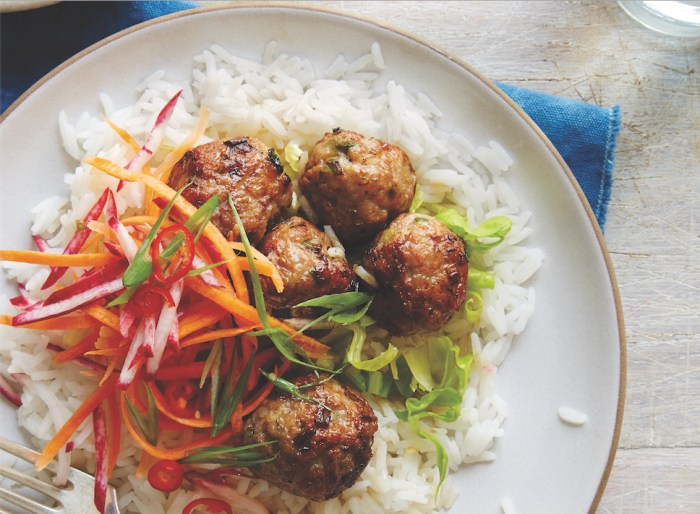lemongrass pork meatballs recipe