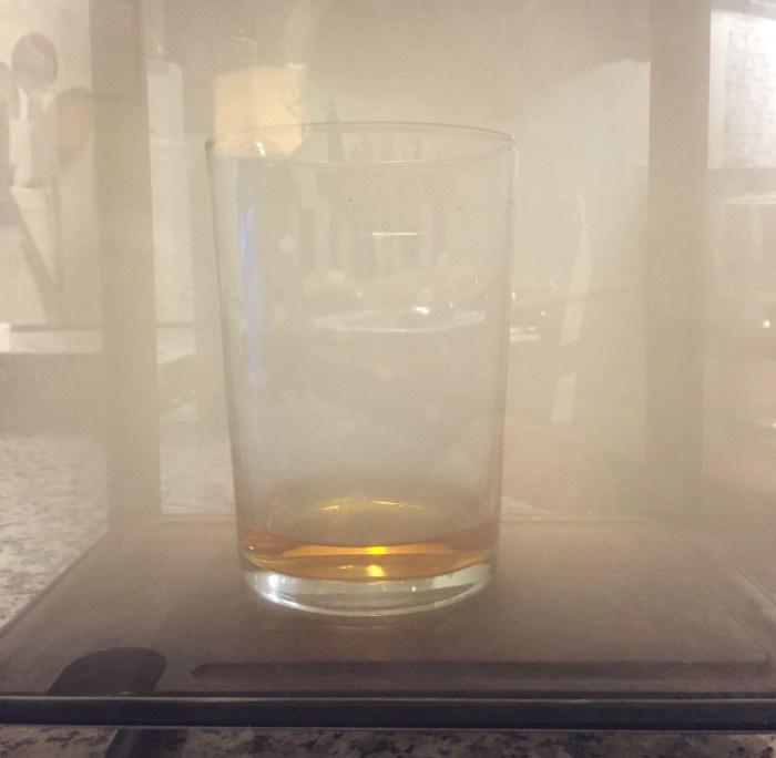 smoking scotch