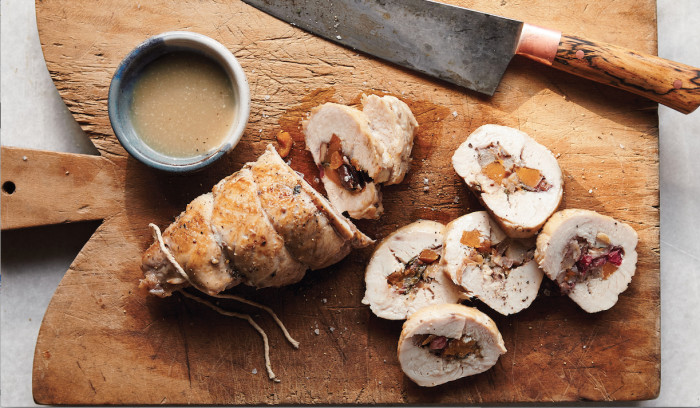 slow cooker stuffed turkey tenderloin with gravy recipe