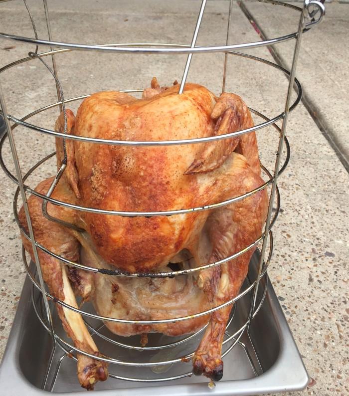 oil-less turkey fryer