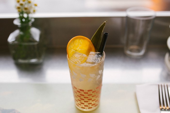 Dove's Luncheonette in Chicago gives tepache the special treatment with tequila and Pacifico. (Photo courtesy of Dove's Luncheonette.)