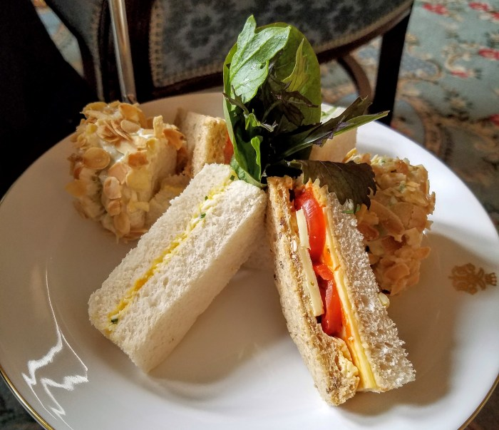 Ashford Castle_tea_sandwich_by Linnea Covington