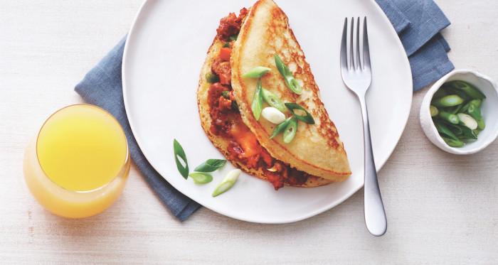Make A Cornbread Omelet