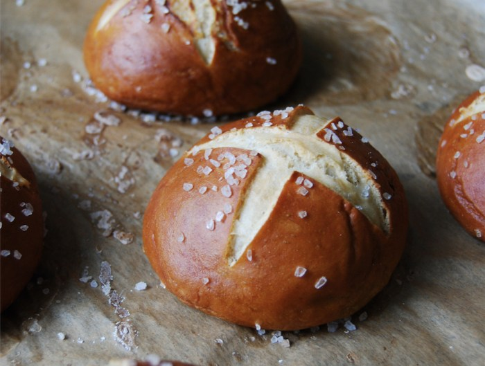 German Pretzel Buns Are Easier To Make Than You Think
