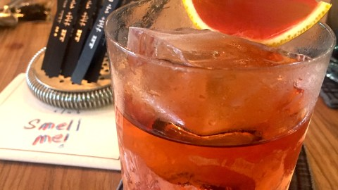 Fords Gin Sonic Negroni at Tippling Club