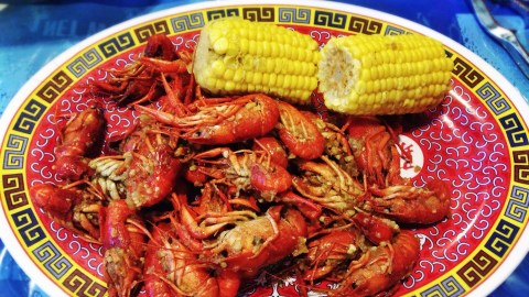 viet-cajun crawfish