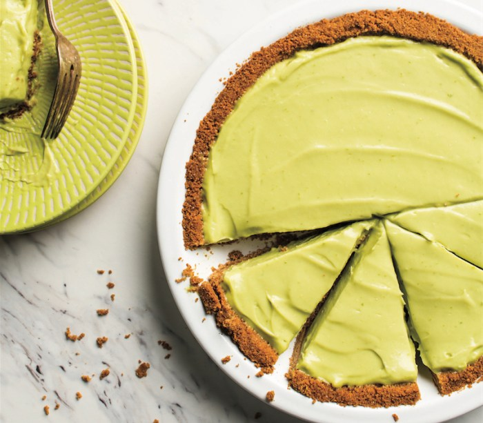 how to make key lime pie green