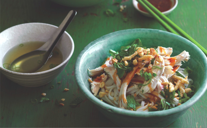 Chicken Pho Noodle Salad