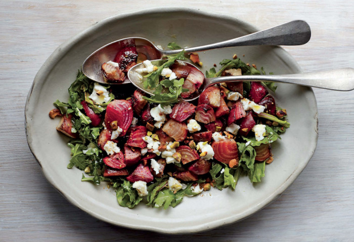 Pistachio And Beet Salad