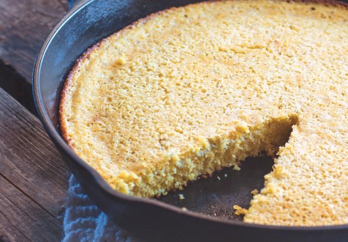 sourdough skillet cornbread