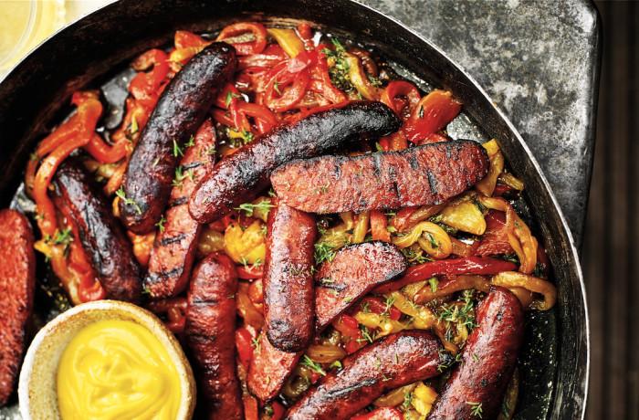 grilled chorizo