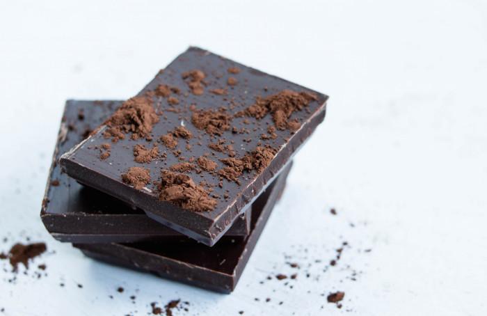 snorting chocolate