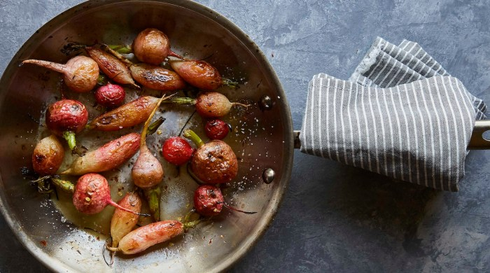 Roasted Radishes With Brown Butter