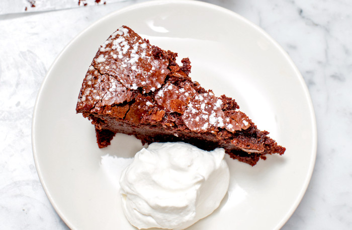 flourless chipotle chocolate cake