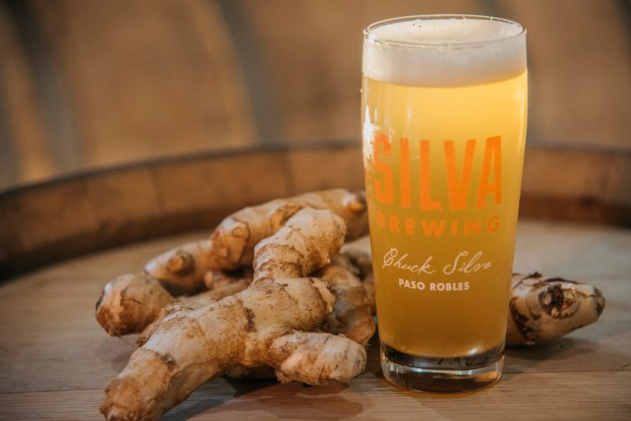 Silva Brewing makes its Ginger Saison with Fresno chile juice. (Photo: Silva Brewing/Facebook.)