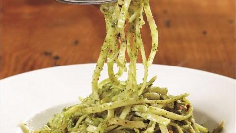 food waste pasta