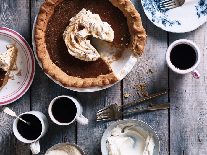 salted maple pumpkin pie