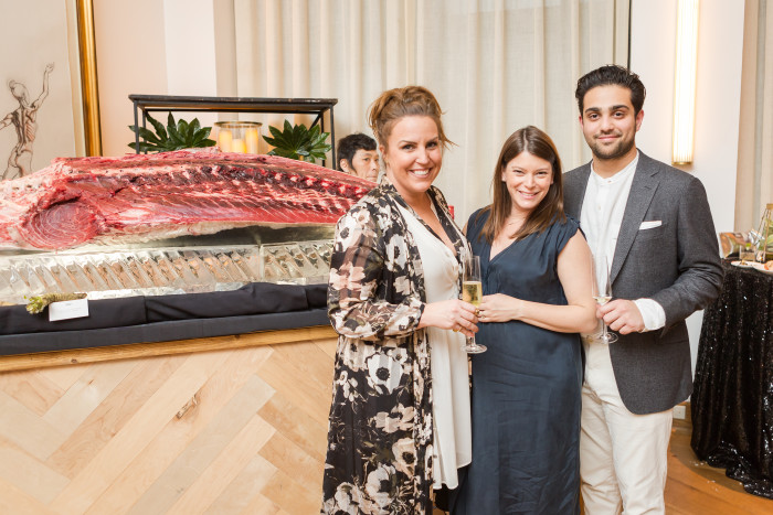 Williams Sonoma PR Director Kendall Coleman, Top Chef's Gail Simmons, Regalis Food's Ian Purkayastha