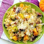 Roasted Autumn Vegetable Pasta with Sage Browned Butter