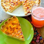 Lobster Bacon Quiche and Grapefruit Mimosas
