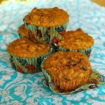 Heart-Healthy Spiced Carrot Oat Muffins with Figs and Walnuts