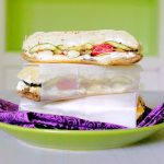 Pressed Grilled Veggie Sandwich
