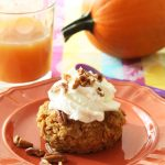 Pumpkin Pie Baked Oatmeal