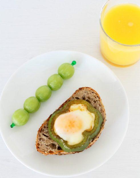 Simple Shamrock Breakfast by Foodtastic Mom
